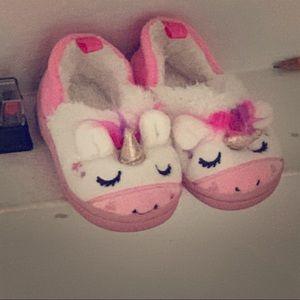 Never worn. Brand new unicorn shoes.
